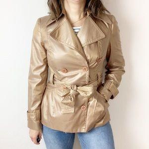 Vintage Emil Rutenberg metallic bronze jacket